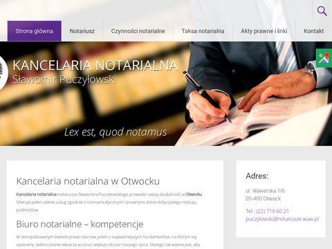 S. Puczyłowski kancelaria notariusza