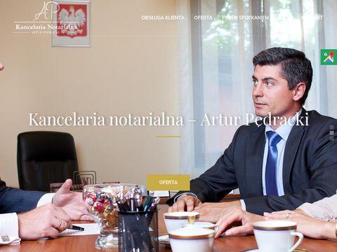 Artur Pędracki notariusz Czerwionka