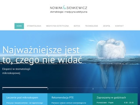 Nowaksienkiewicz.pl stomatologia Wrocław