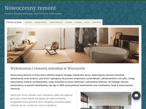 Nowoczesnyremont.pl mieszkań Warszawa