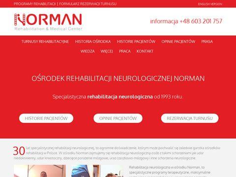 Normanrehabilitation.com prywatny ośrodek rehabilitacji