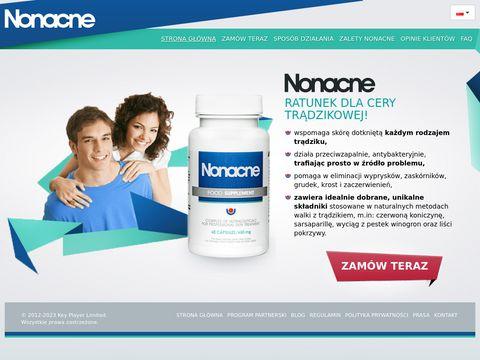 Nonacne.pl - tabletki na trądzik