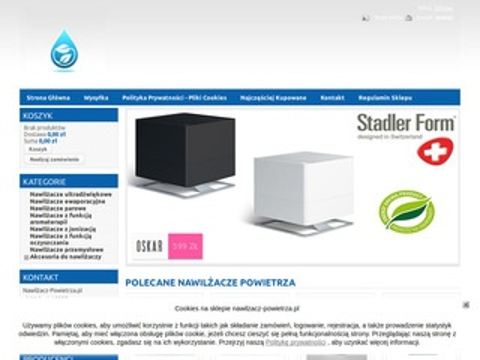 Nawilzacz-powietrza.pl parowy