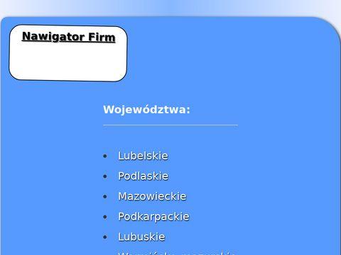 Nawigator-firm.pl profesjonalana wizytówka