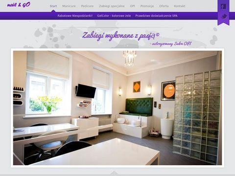 NailandGO.pl manicure hybrydowy Warszawa