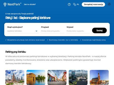 Parking lotnisko Kraków - nextpark.pl