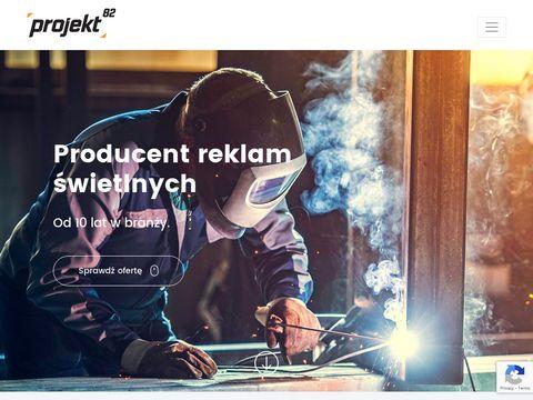 VIKI litery przestrzenne LED Szczecin