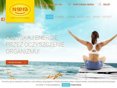Neera.pl kuracja oczyszczająca z toksyn