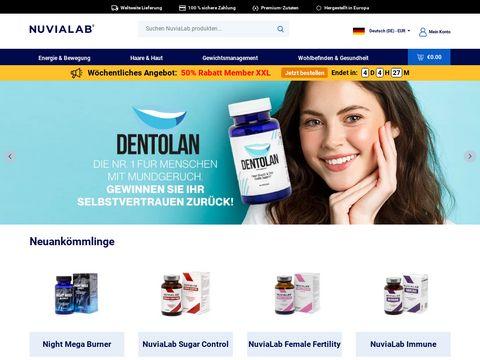 Nuvialab.pl - drogeria internetowa