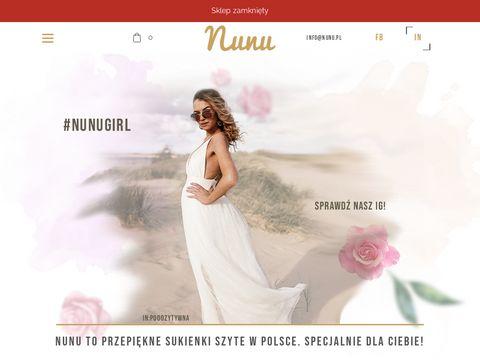Nunu.pl sklep internetowy z sukienkami