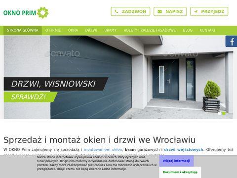 Oknoprim.com.pl ogrodzenia posesyjne Wrocław