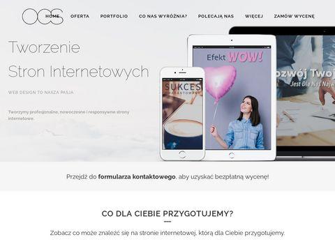 Onecodestudio.pl - tworzenie stron internetowych