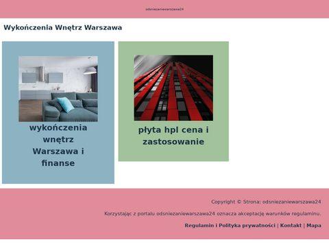 Odsniezaniewarszawa24.pl - odśnieżanie
