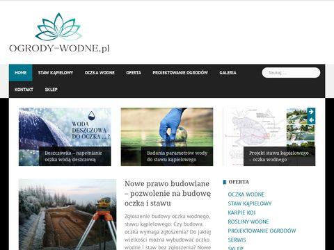 Ogrody-wodne.pl - projektowanie