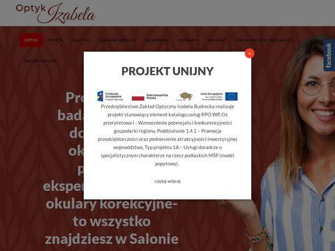 Optykizabela.pl salon optyczny