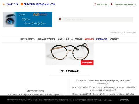 Anna Pisarska soczewki kontaktowe Kraków