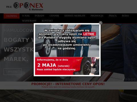 Oponex-belchatow.pl - klimatyzacja