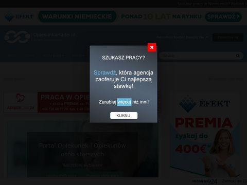 Opiekunkowo.pl serwis