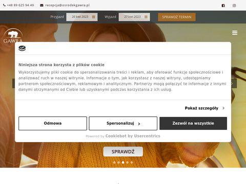 Osrodekgawra.pl wyjazd integracyjny mazury
