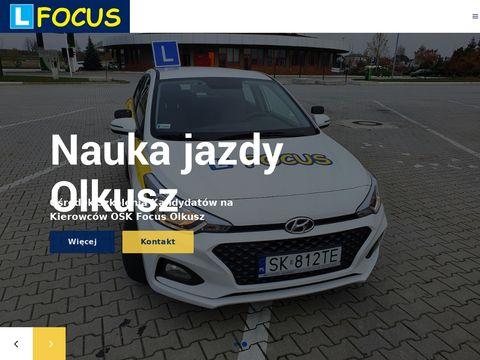 Oskfocus.pl nauka jazdy Olkusz