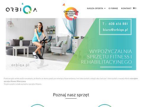 Orbiqa.pl - wynajem bieżni