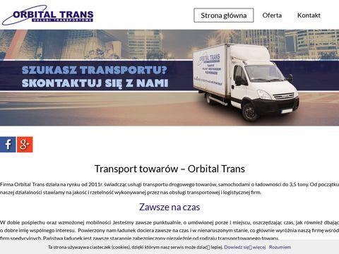Orbital Trans obsługa logistyczna