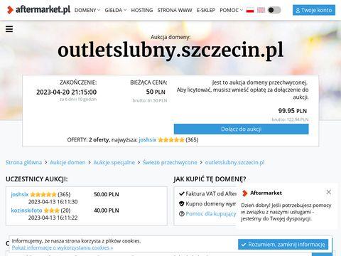 Outletslubny.szczecin.pl suknia ślubna