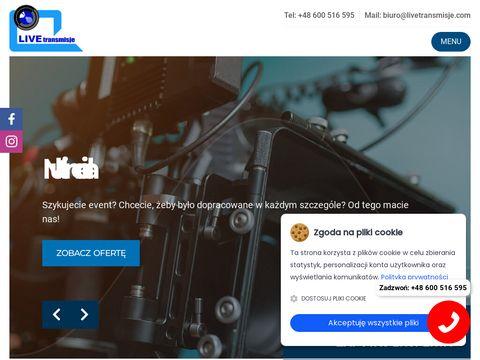 Livetransmisje.com wynajem telebimów