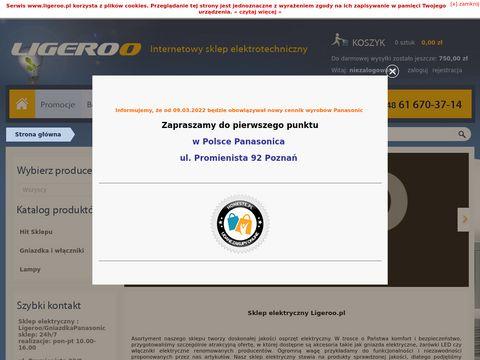 Ligeroo.pl sklep elektryczny