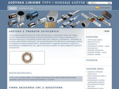 Lozyska-liniowe.com.pl