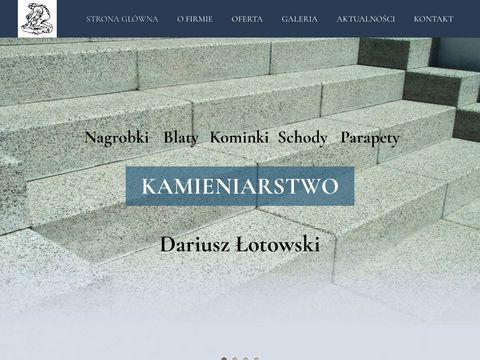 Łotowski Dariusz blaty granitowe