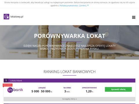 Lokatowy.pl - ewyszukiwarka lokat