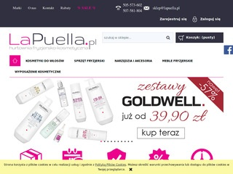 Lapuella.pl Hurtownia fryzjerska