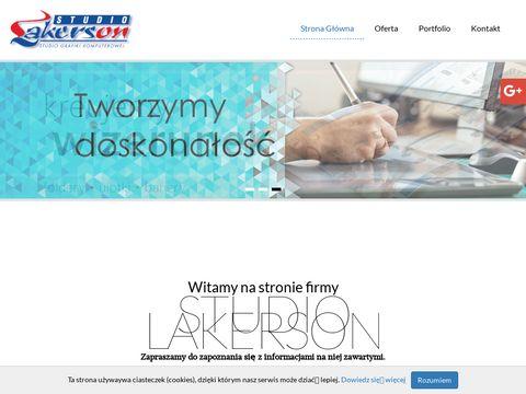 Lakerson.pl projekty graficzne
