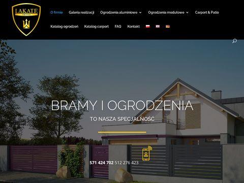 Lakate.pl ogrodzenia i bramy
