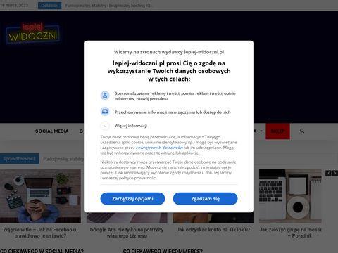 Lepiej-widoczni.pl - portal o SEO i SEM