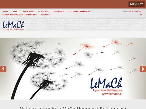 Lemach.pl gadżety reklamowe ulotki i kartony