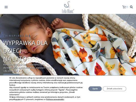 Lela Blanc - pościel, kocyki dla dzieci