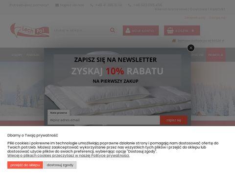 Lech-pol.eu kołdry sklep internetowy