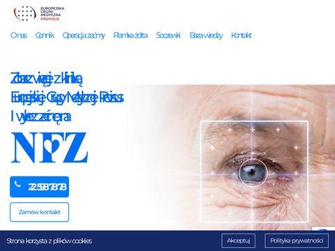 Leczsiezagranica.pl - operacja zaćmy w Czechach