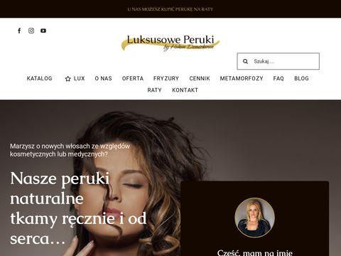 Luksusoweperuki.pl włosy