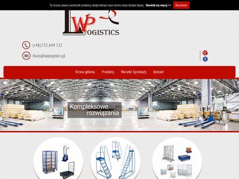 Wózki gospodarcze platformowe - lwplogistics.pl