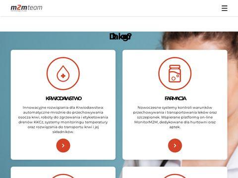 M2mteam.pl monitor temperatury