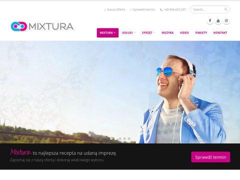 Mixtura.com.pl dj wodzirej