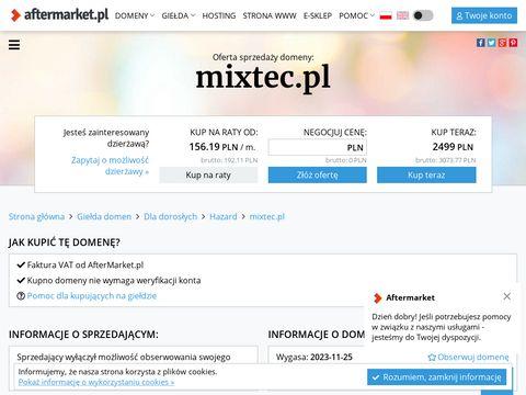 Mixtec.pl blendery gastronomiczne
