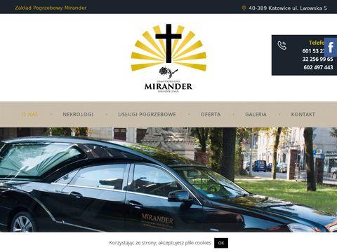 Mirander.com.pl zakład pogrzebowy