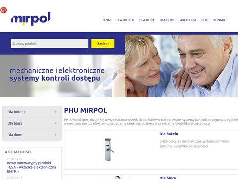 Mirpol.com.pl zamek do sejfu Warszawa