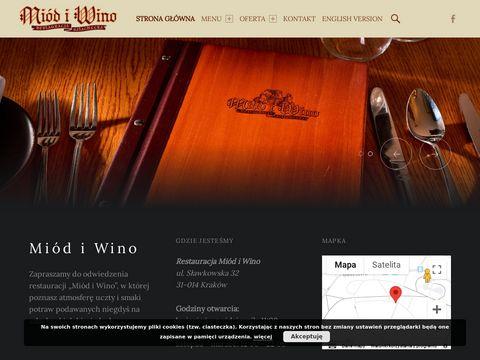 Miód i Wino restauracja