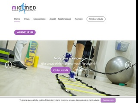 Miomed.pl rehabilitacja dzieci Gdańsk