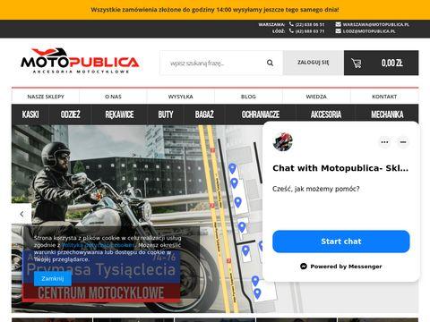 Motopublica.pl kaski motocyklowe Łódź